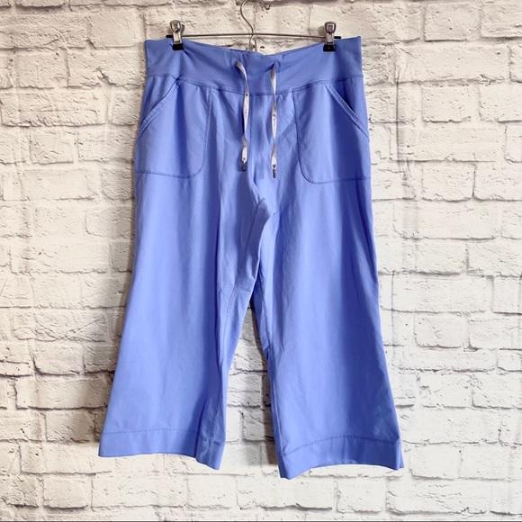 Lululemon Wide Leg Crops Cropped Pants